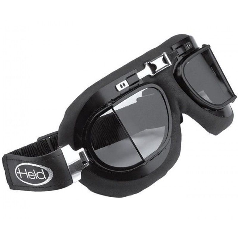 Held Motorcycle Goggles Black