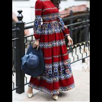 فساتين للسمينات وللبدينات مقاسات كبيرة فخمه وراقيه جديدة 2018 تسوقي الآن ازياء فساتين سمينات للبيع من متجر ازياء مول Muslim Fashion Fashion Hijab Fashion