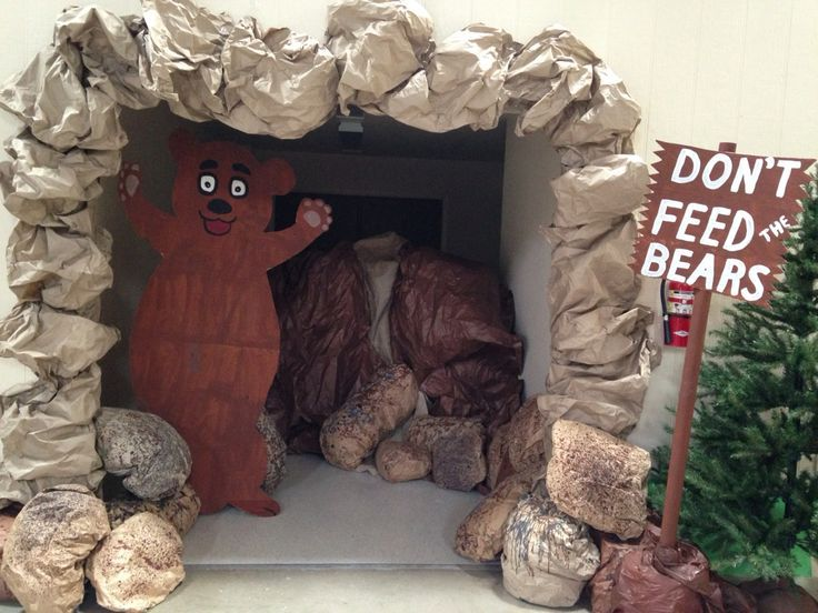 Vbs Camping Theme Decorating Ideas Part - 34: Cave Quest Vbs, Bear Birthday, Camping Theme, Vbs 2016, Church Ideas, Camp  Out Vbs, Arctic Decorations, Food Drive, True North