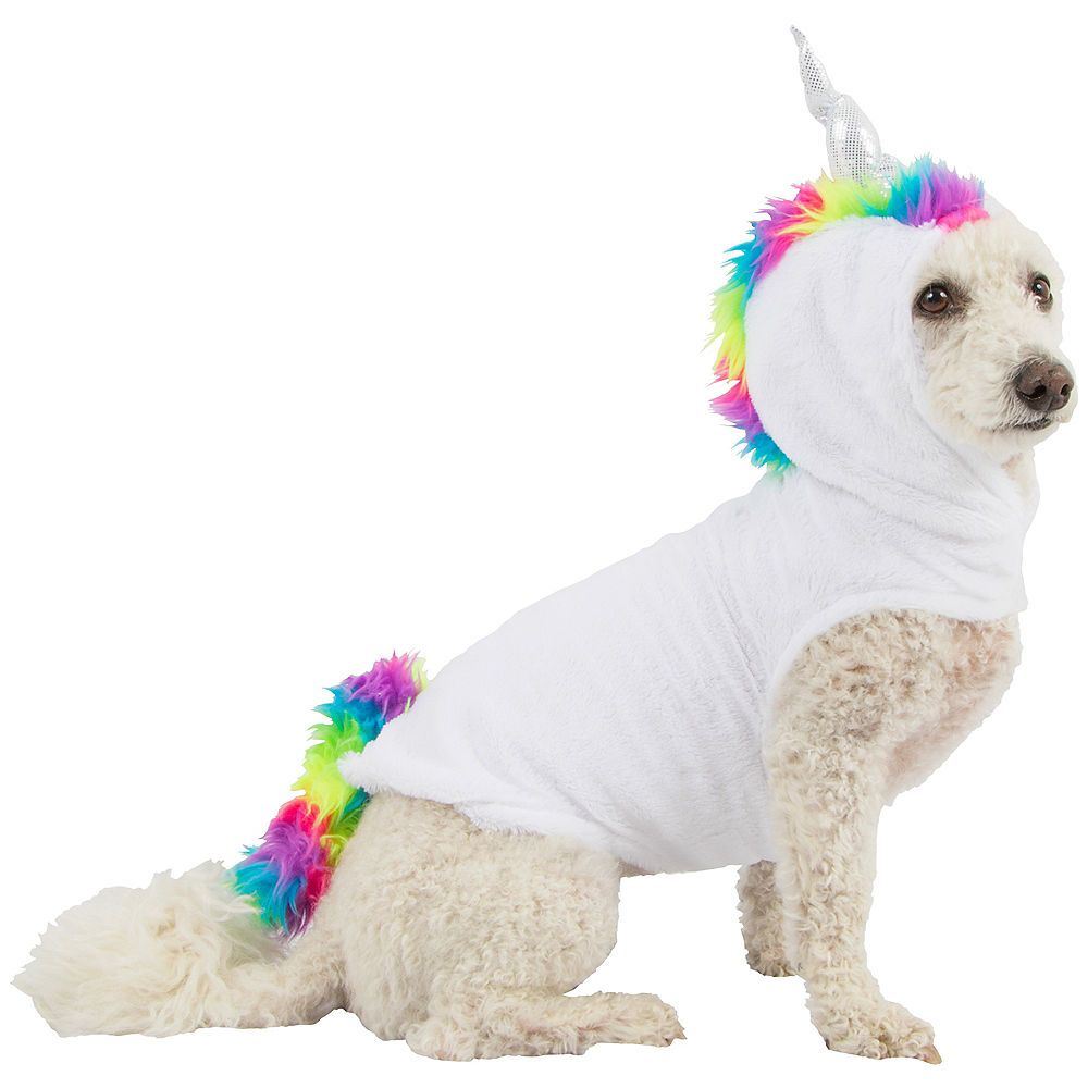 a30d25ed84195 Unicorn Dog Costume | Halloween costumes | Unicorn dog costume, Dog ...