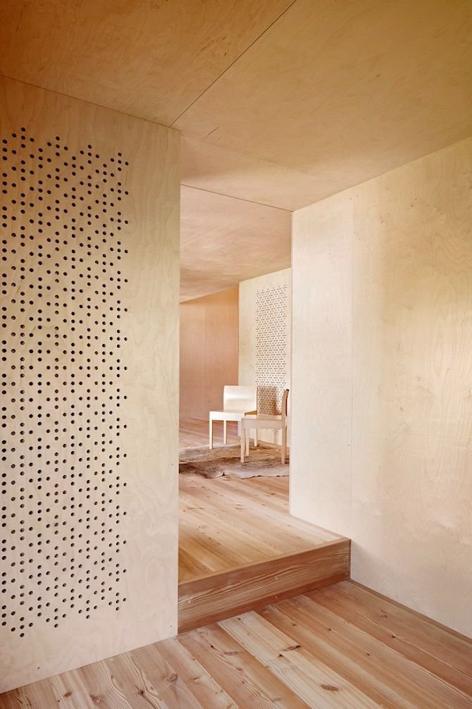 Plywood interiors : Camponovo Baumgartner Architekten: Casa C - Thisispaper…: