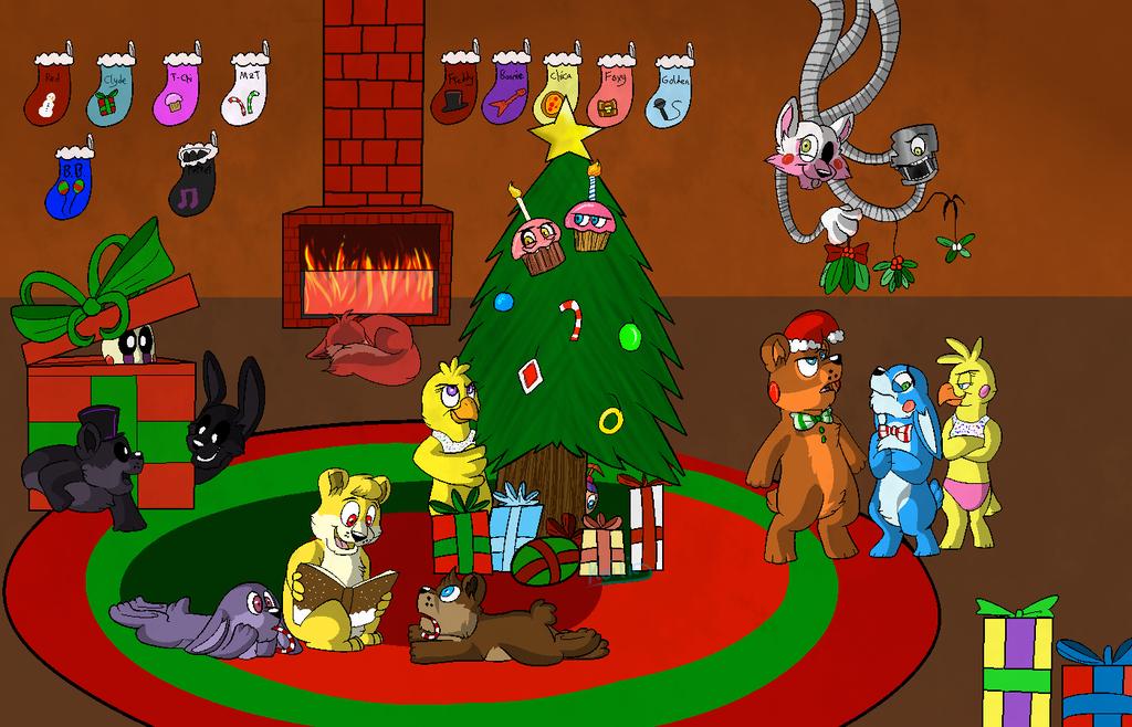Fnaf Christmas.Fnaf Xmas Recherche Google Five Nights At Freddy Fnaf