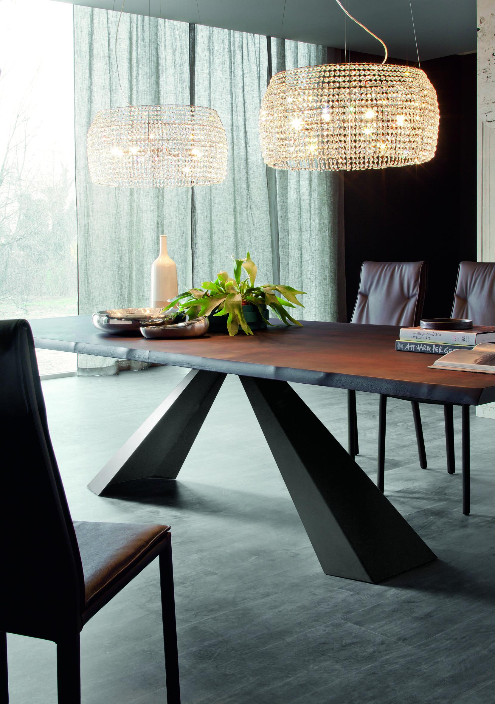 cattelan italia esstisch eliot wood cattelan italia tische. Black Bedroom Furniture Sets. Home Design Ideas