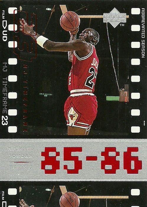 d94a2215118a45 1998 UPPER DECK MJ LIVING LEGEND  4 MICHAEL JORDAN BULLS 50 CENT SHIPPING   ChicagoBulls