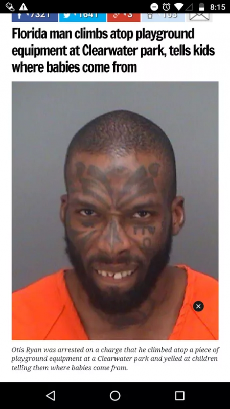 32 TIMES 'FLORIDA MAN' MADE THE HEADLINES