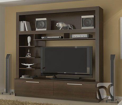 Muebles de sala centros de entretenimiento y mesas for Muebles modernos para sala