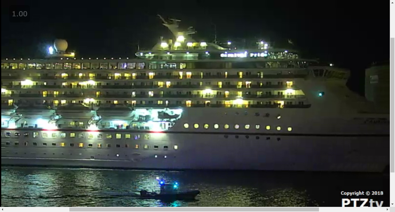 Port Canaveral Webcam A Cape Canaveral Cruise Ship Web Cam - Cruise ship web cameras