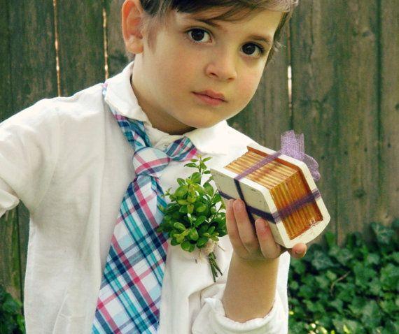 Bodas caja portador del anillo de boda fiesta color libro blanco cajita fuera de boda