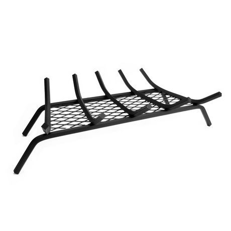 Pleasant Hearth 27 Inches Steel Grate With Ember Retainer In 2019