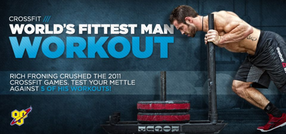 Froning prevailed in 2011, but it's a new year with new challengers -- and challenges. We've got 5 of Rich's workouts in honor of the 2012 Reebok CrossFit Games.