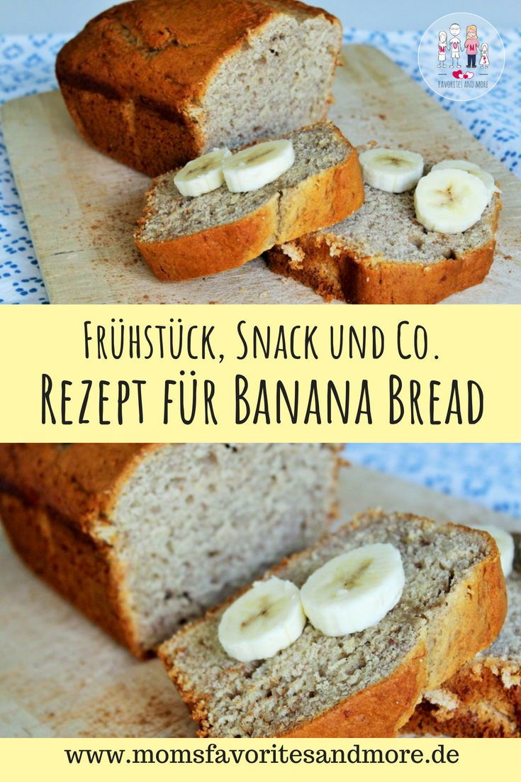 Banana Bread - Mein Rezept für Bananenbrot #breadrecipessweet