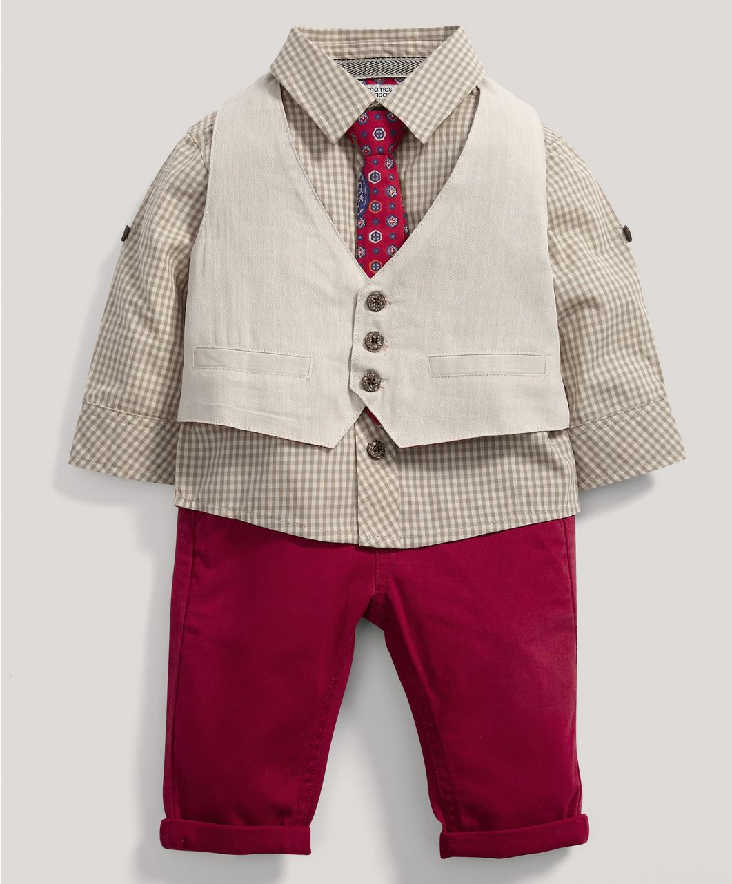 7a2ca3a97019 Boys Limited Edition 4 Piece Waistcoat Set - Special Occasion ...