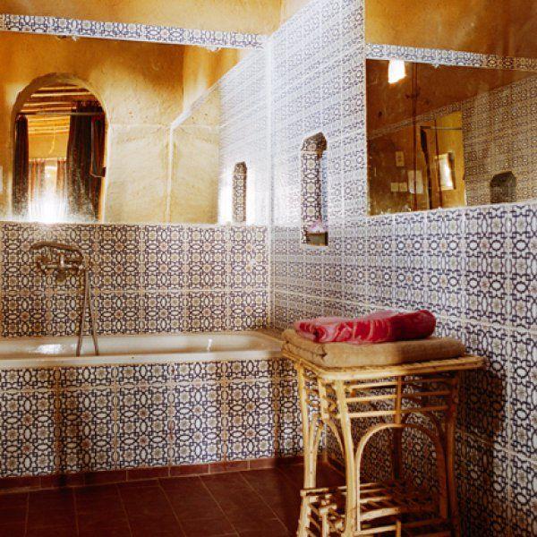 Salle de bain marocaine | Salle de bain marocaine, Salle de bain ...