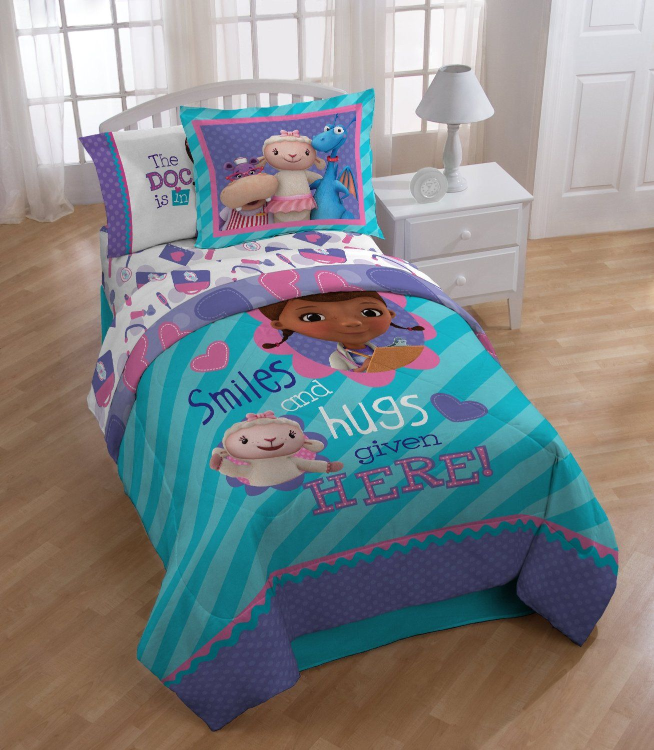 get the top doc mcstuffins bedding home decor and furniture idea for the top kids bedding for everyone to enjoy