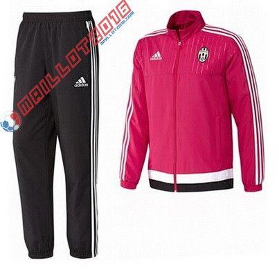 Nouveau Veste Adidas Juventus 2016 Rouge | Survêtement de