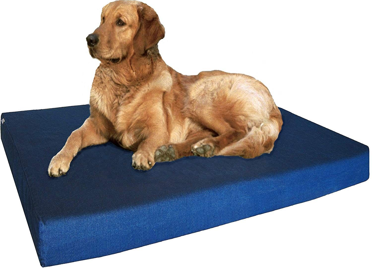 Dogbed4less Heavy Duty Orthopedic Memory Foam Pet Bed with