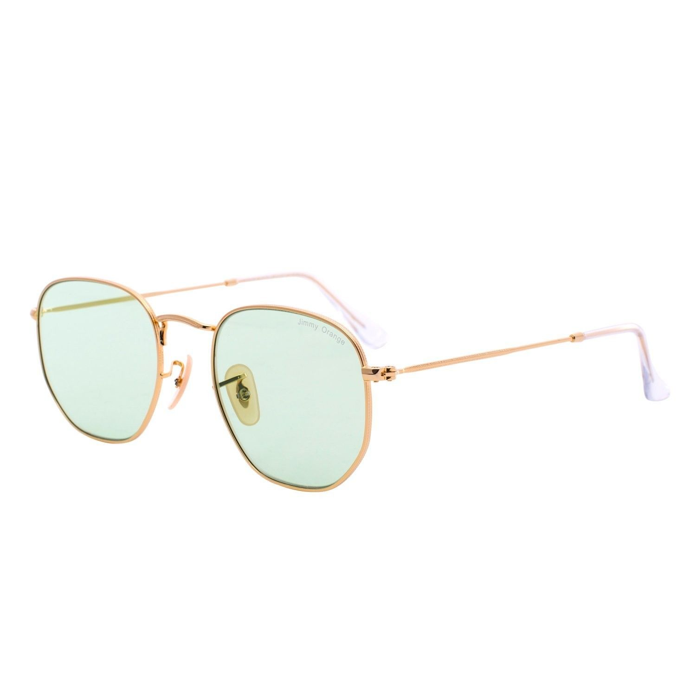 d42afd6d253c Metal Womens Mens Round Designer UV Protection Mirrored Lens Sunglasses  J7233 - Transparent Green - C717Y9AM8KT - Women's Sunglasses, ...