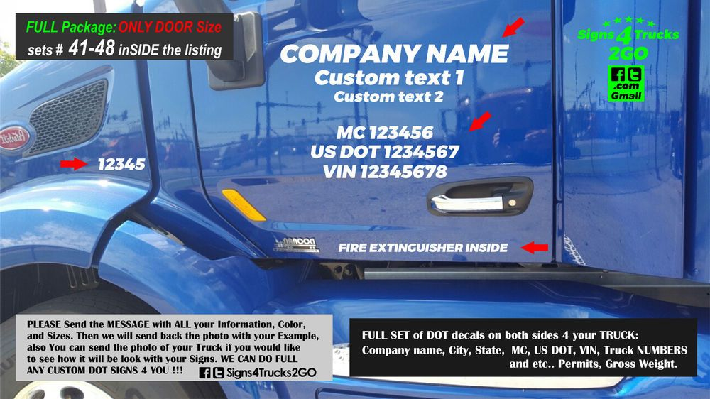 Details About 0496 Set 41 48 Dot Signs Decals Lettering