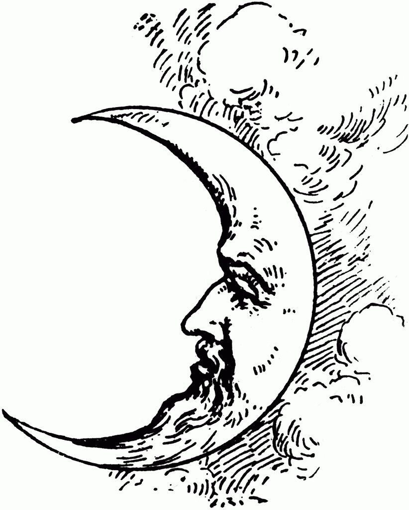 Croissant De Lune Dessin