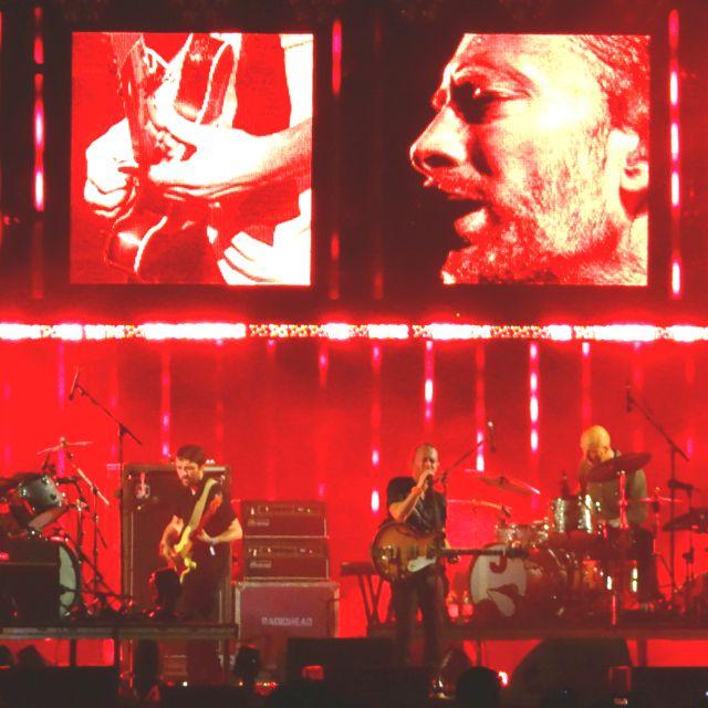 지산 Radiohead 무대의 압권은 음악과 어우러지는 영상이 아니었나하는..  @ Jisan Valley Rock Festival (2012.07.27)