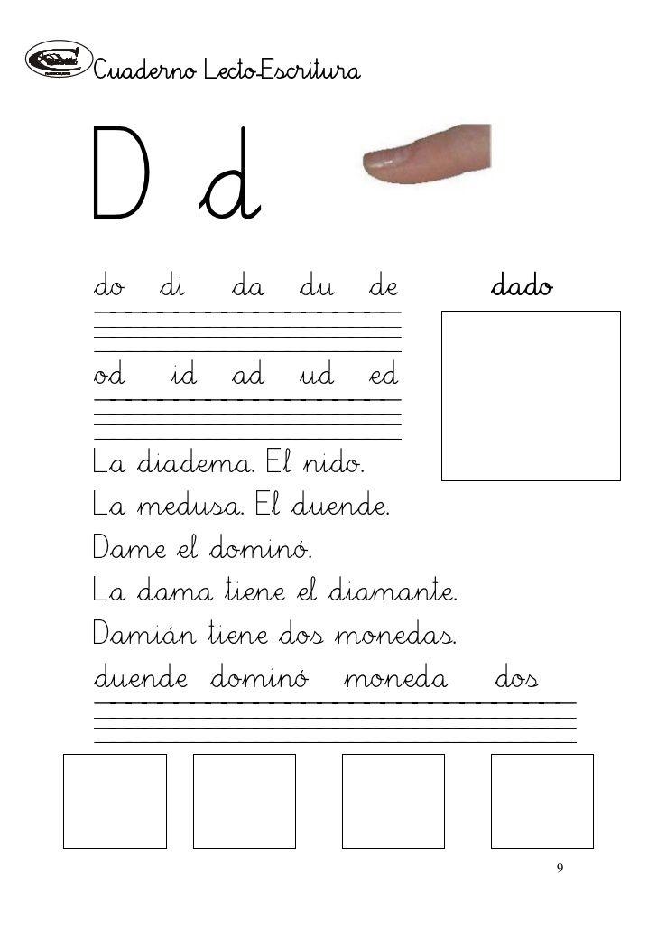Cuaderno de lectoescritura i (1)(1) | educación comunicación | Pinterest
