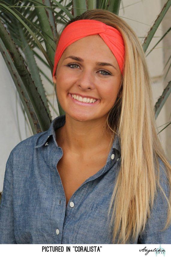 SOLID Turban Twist Jersey Stretch Headband Bohemian Earwarmer Workout  Headband Fall Women fashion accessories by Angelika Gale 571568e000f1