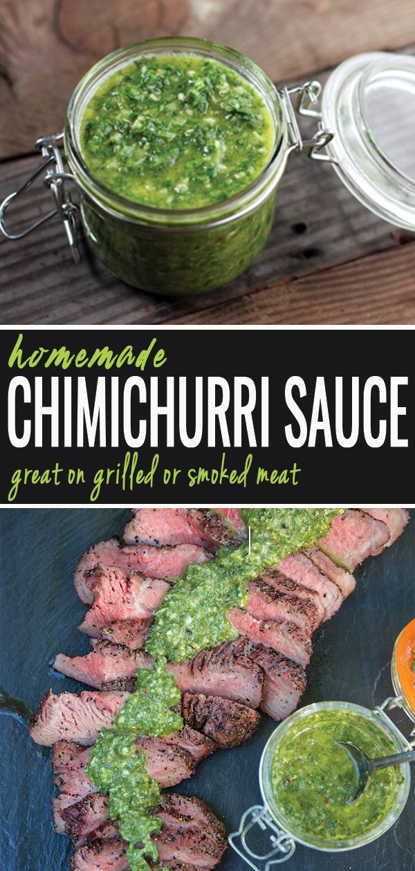 Easy Chimichurri Sauce images