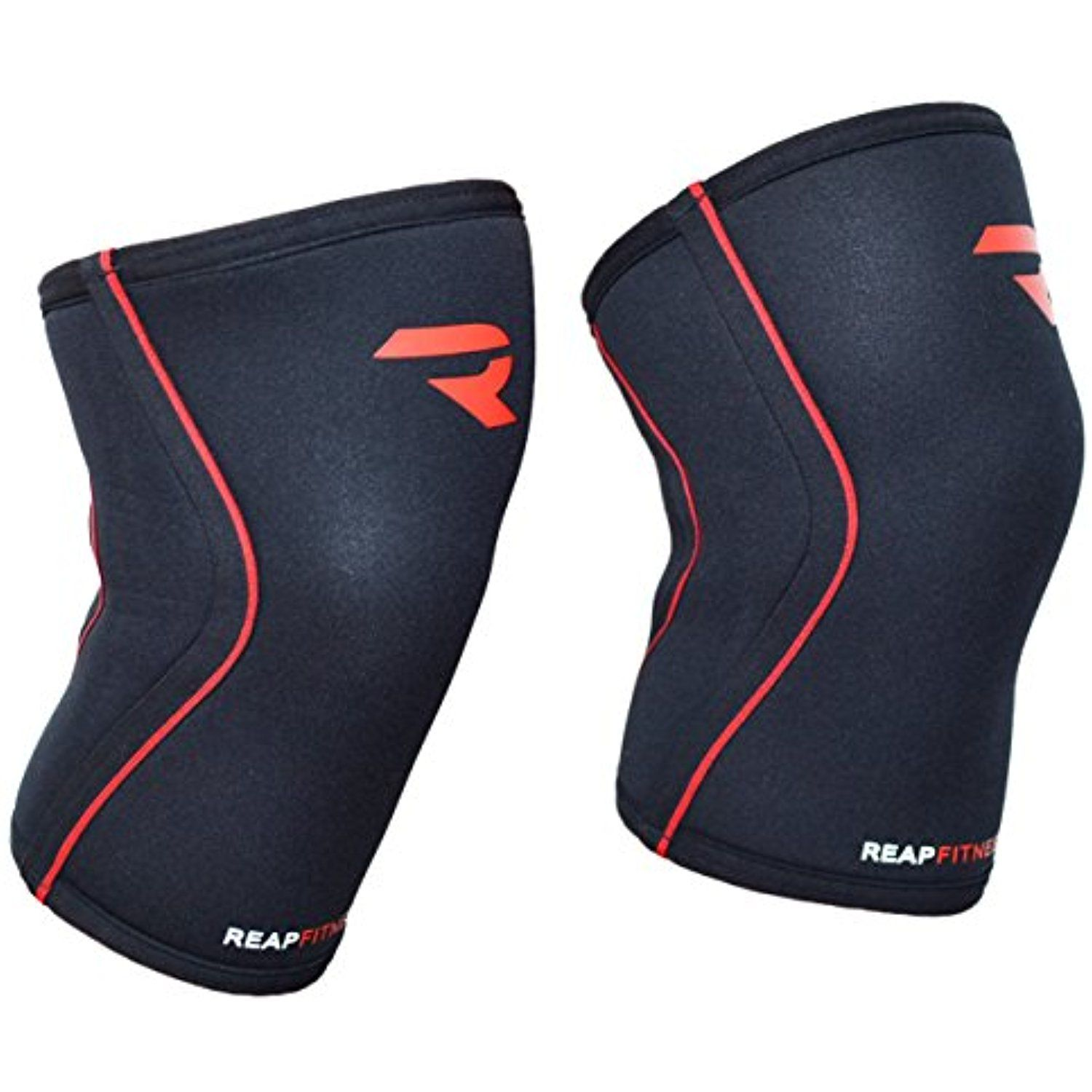 fb195d9939 Knee Support for SQUATS by REAP Fitness (PAIR) For Crossfit, Weightlifting,  Deadlifts, Heavy Lifting, Heavy Workouts -- Visit the image link more  details.