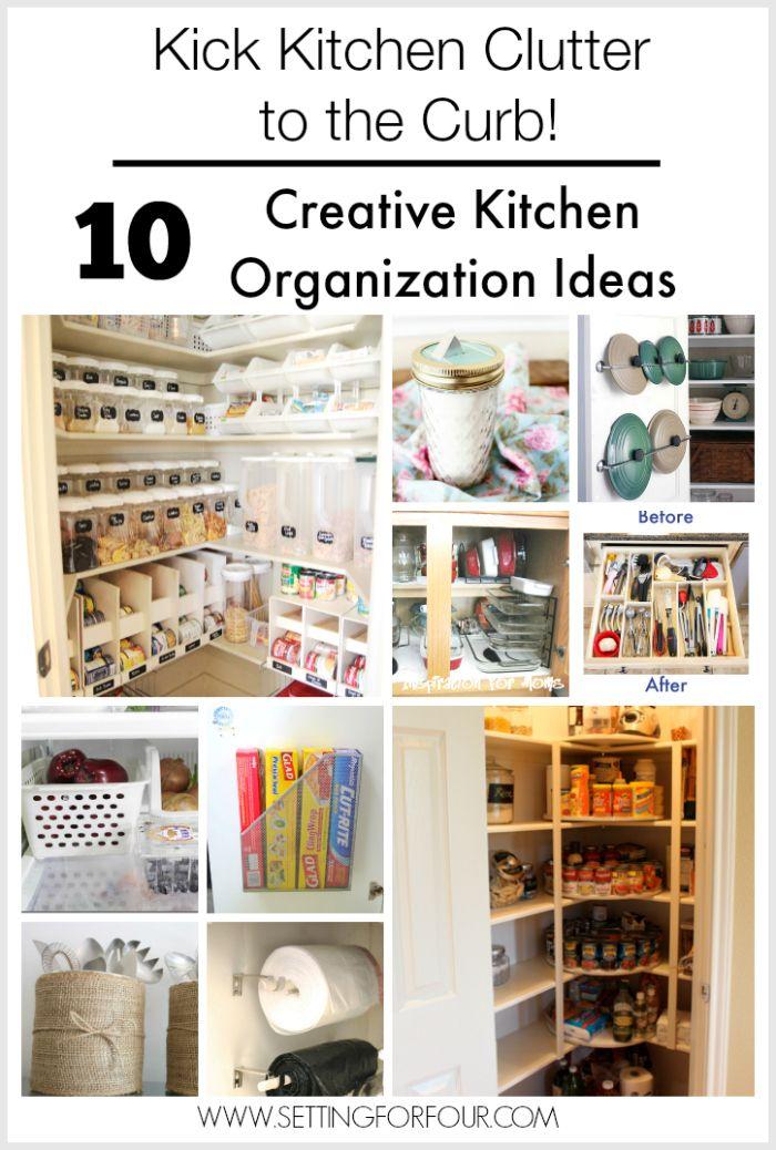 10 Budget Friendly Creative Kitchen Organization Ideas Storage And Organization Small Kitchen Organization Diy Organization