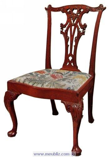 Style Anglais Chippendale 1754 1770 Chippendale Chippendale Furniture Century Furniture