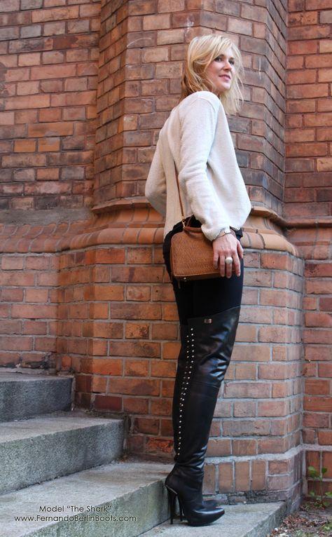 fernando berlin boots | Hohe stiefel, Hochhackige stiefel