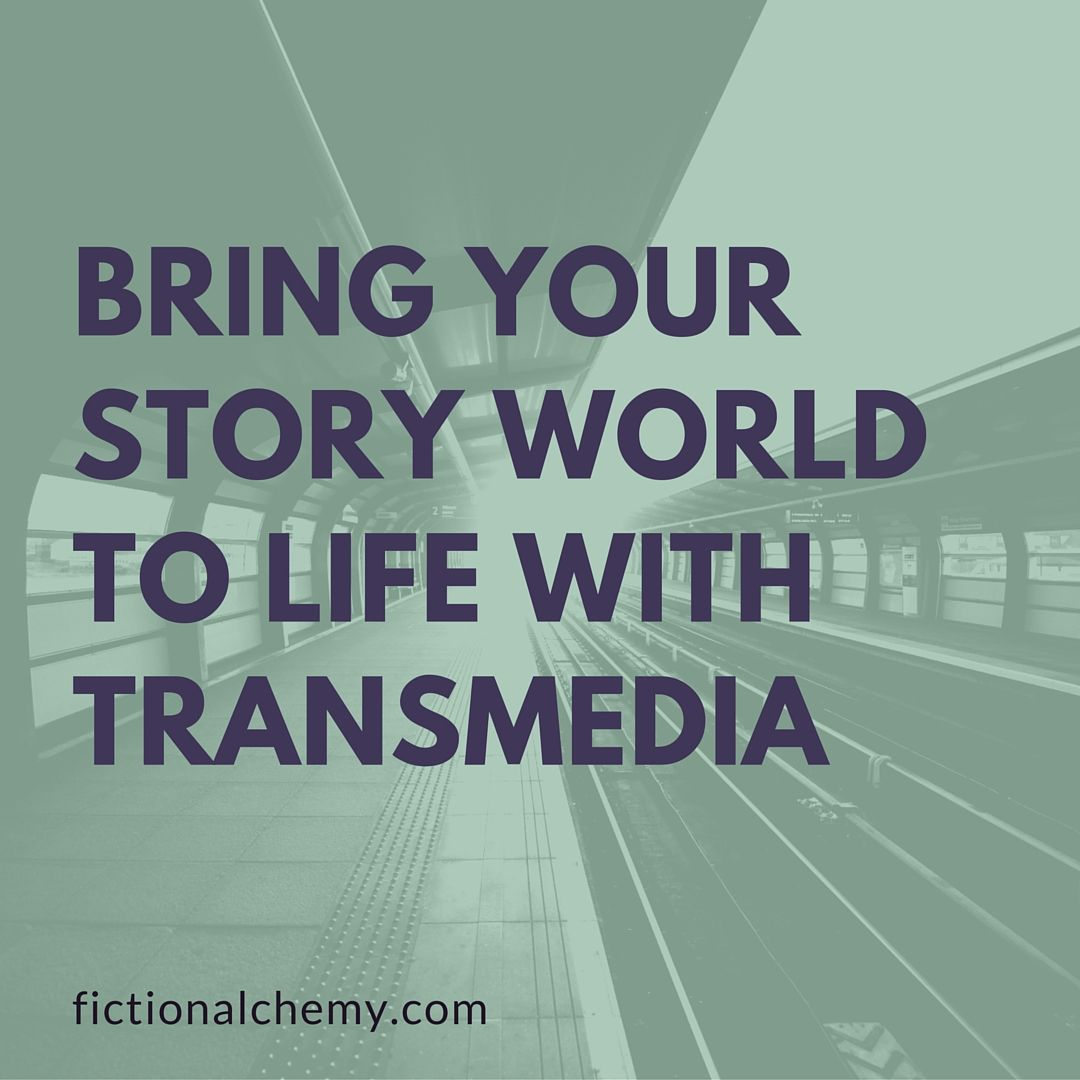 Transmedia can bring your story world into the real world. Fiction Alchemy can show you how.