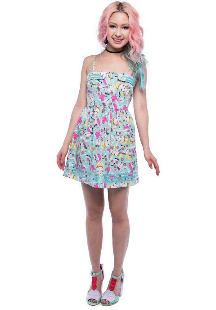 Iron-Fist Doll-Parts-Dress - titus-shop.com  #Dress #FemaleClothing #titus #titusskateshop