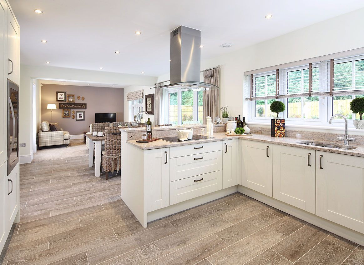 The Highgrove Redrow Open plan kitchen living room