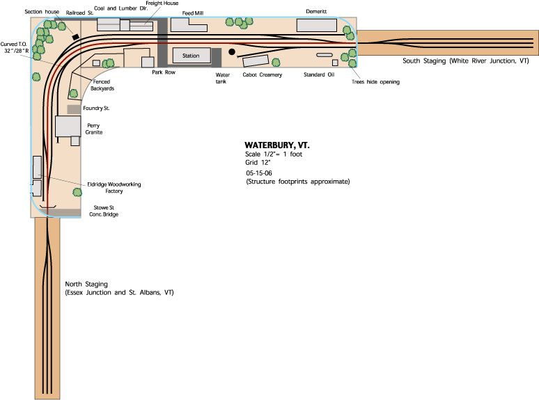 ho shelf plan train layouts bing images layout ideas HO Train Layout Construction Building a Shelf Layout