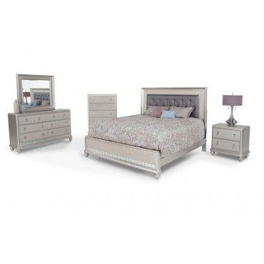 Diva 8 Piece Queen Bedroom Set | Home Decor | Diva bedroom set ...