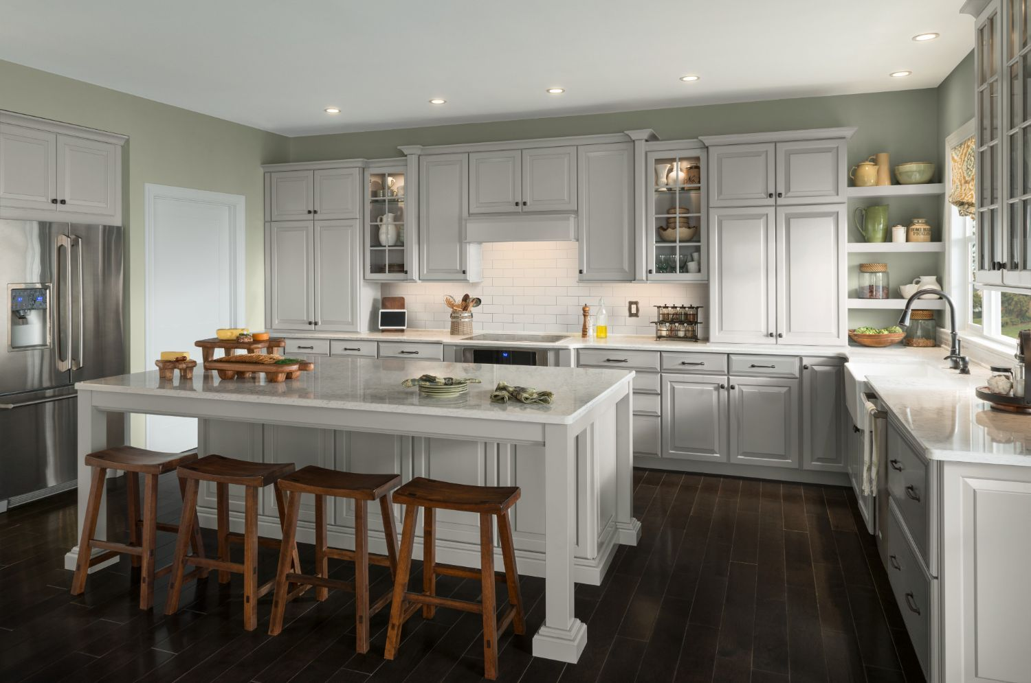 Charlottesville Collection American Woodmark Kitchen Cabinet Styles Kitchen Style Quality Kitchen Cabinets