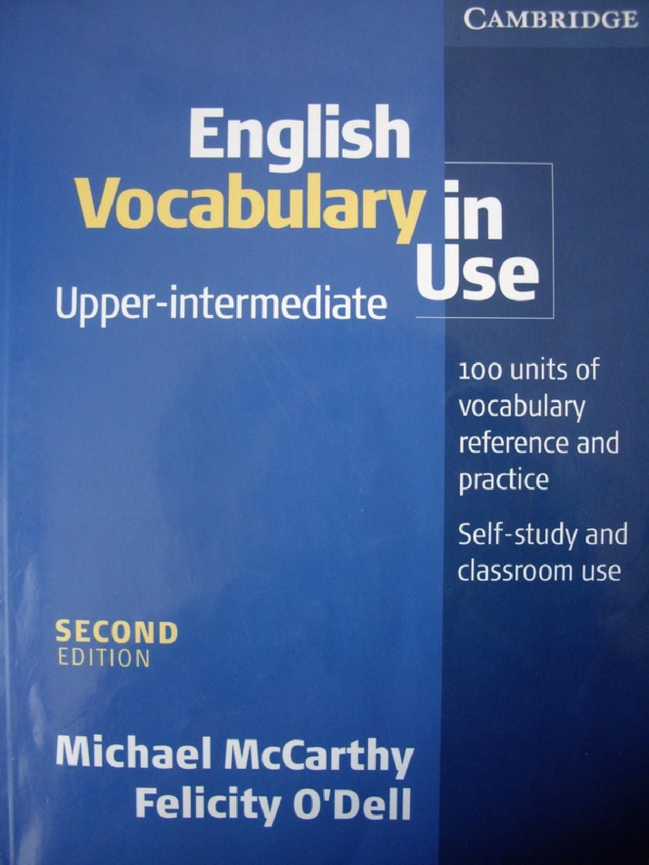 English Vocabulary In Use Upper Intermediate English