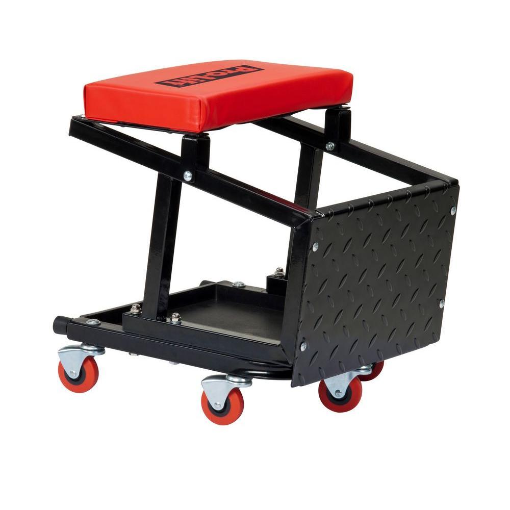 Pro Lift Mechanic Plastic Creeper 36 Inch  Red