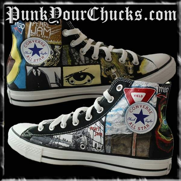 96f28d6d81cc Pearl Jam Chucks