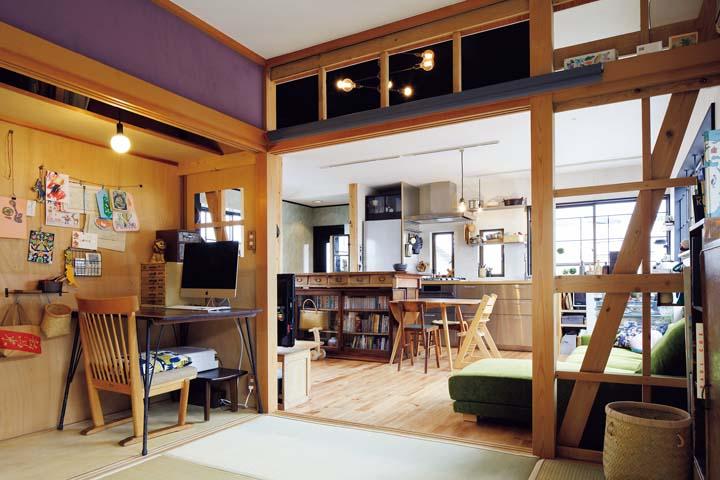 築25年 完全分離型の二世帯住宅を子育てしやすい開放的な空間にリノベ