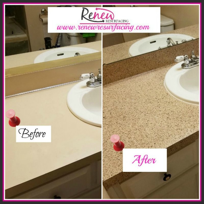 We Ll Help You Get This Look One Day No Mess No Stress 402 500 0669 Kitchen Vanity Resurface Countertops Kitchen Countertops