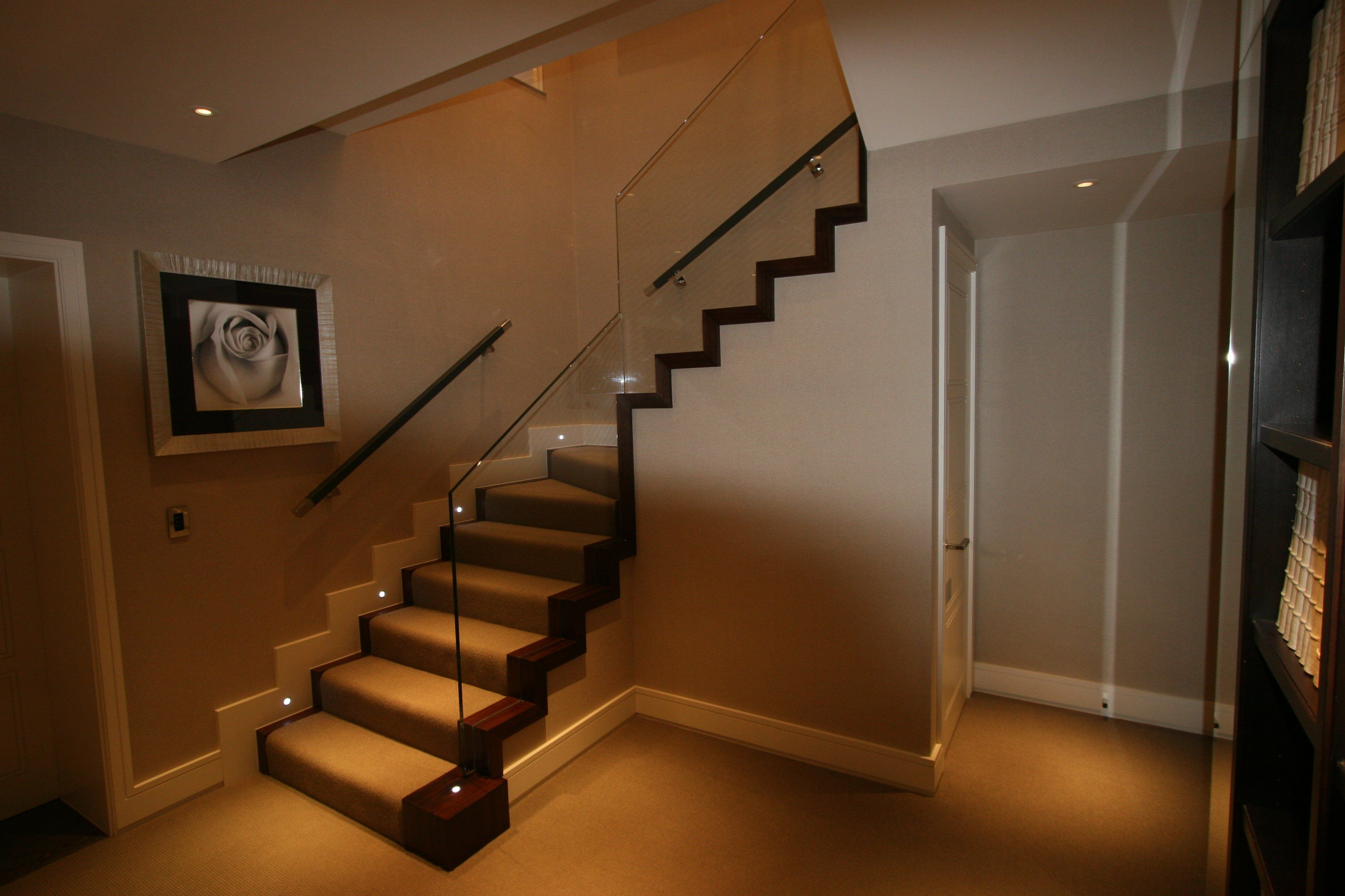 Led staircase lighting staircase lighting pinterest - Interior stair lighting ideas ...