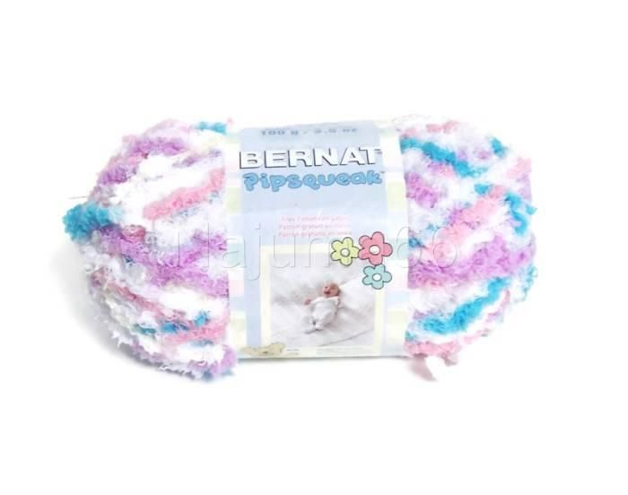 Bernat Pipsqueak Knitting Crocheting Yarn Skeins (5 Bulky) - Sittin' Pretty (59315)