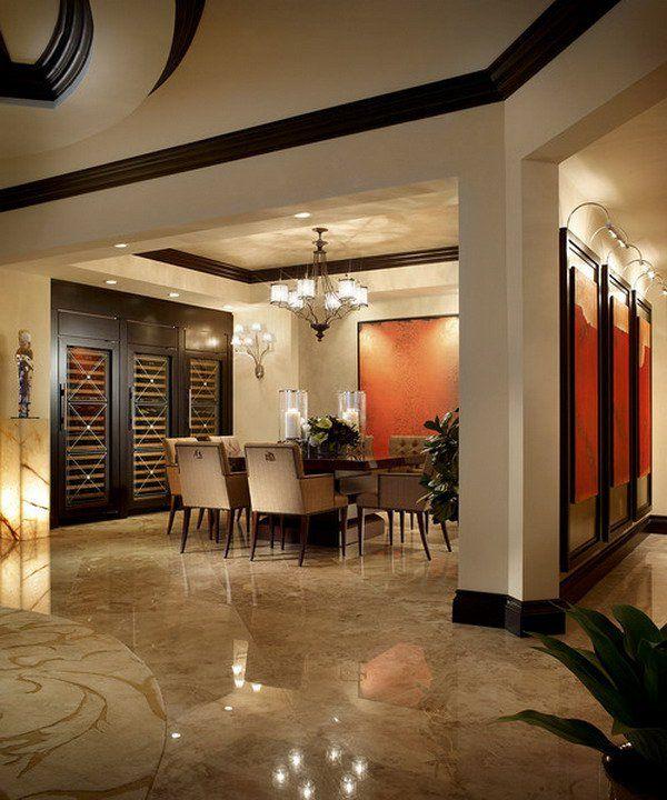 40 Beautiful Modern Dining Room Ideas False Ceiling Design