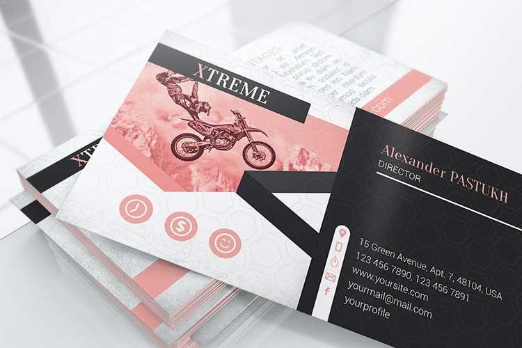 100 بطاقات الأعمال قوالب احترافية روعة للتحميل مجانا 2020 مكتبة الفوتوشوب In 2020 Business Card Mock Up Business Card Texture Pink Business Card