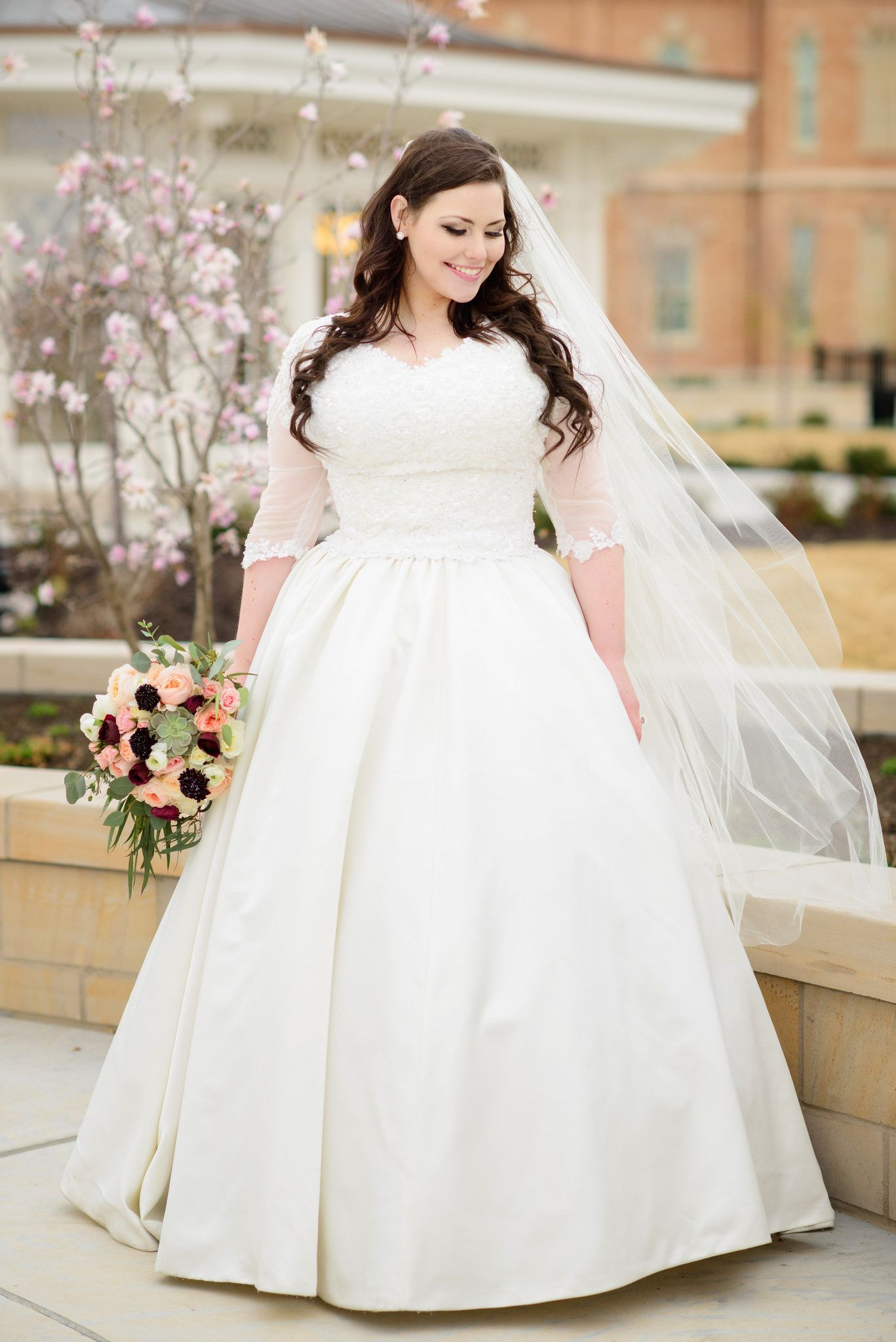 Provo City Center Temple Bridal and wedding photography   wedding ...