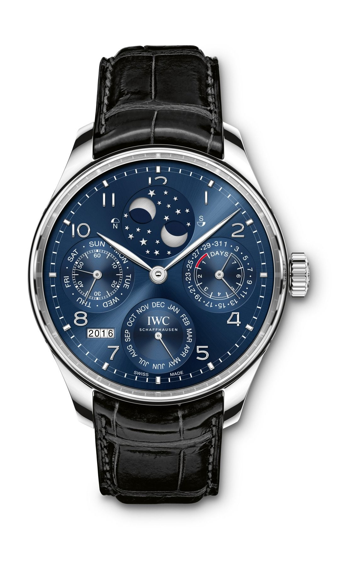 a84c781b3c0 The IWC Portugieser Perpetual Calendar. Add it to your holiday wish list!