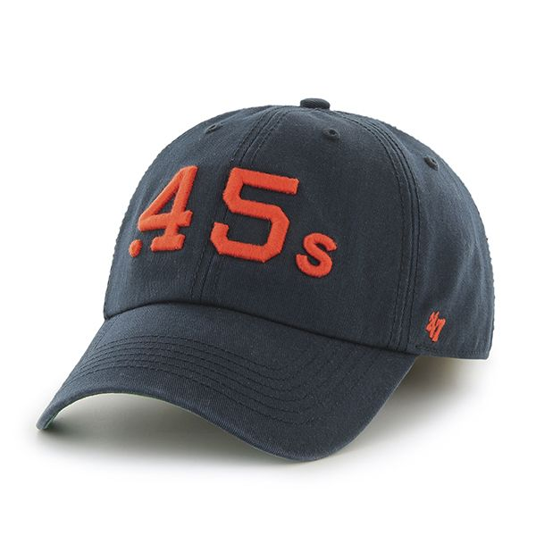 3f2f52072cab1 Houston Astros 47 Brand Clean Up Navy Adjustable Hat
