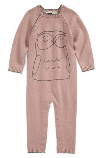 Stella McCartney Kids 'Tommy' Romper (Baby Girls) available at #Nordstrom  @Tk Cox  for the new bebe??